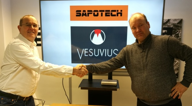 Sapotech and Vesuvius joining forces to revolutionize the metals industry!