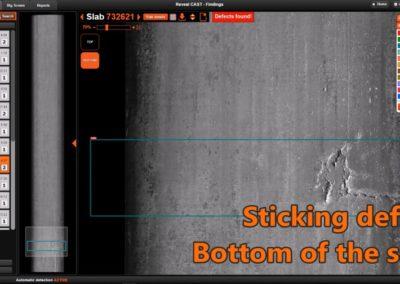 Reveal CAST - sticking defect 2