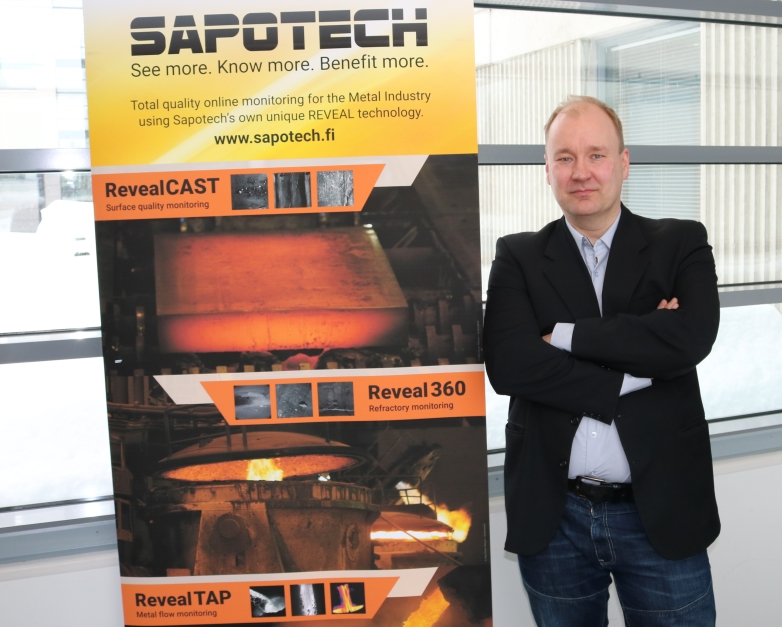 Interview with Saku Kaukonen CEO of Sapotech