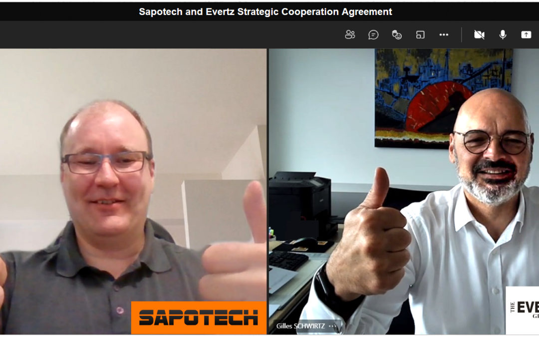Evertz and Sapotech agree on strategic cooperation